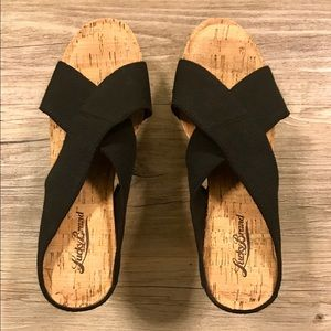 Lucky Brand Wedge Sandals Size 9 - NEW!